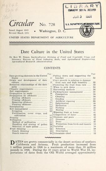 Date culture in the United States by Roy W. Nixon