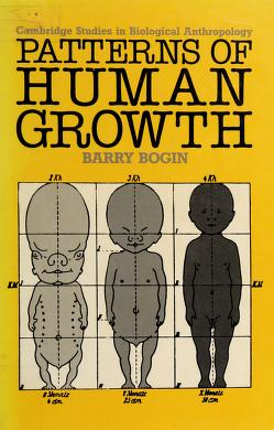 Cover of: Patterns of human growth | Barry Bogin