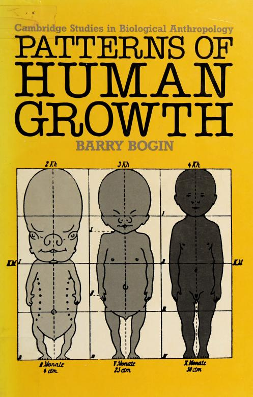 Patterns of human growth by Barry Bogin