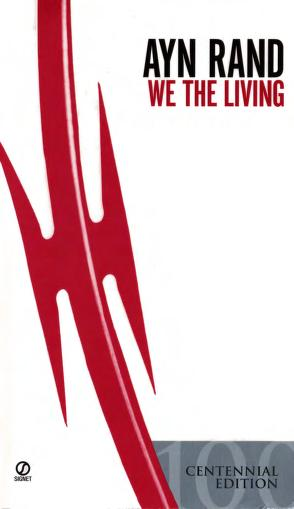 Cover of: We the living by Ayn Rand